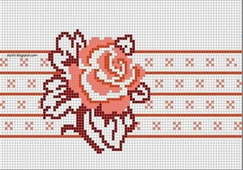 rose cross stitch