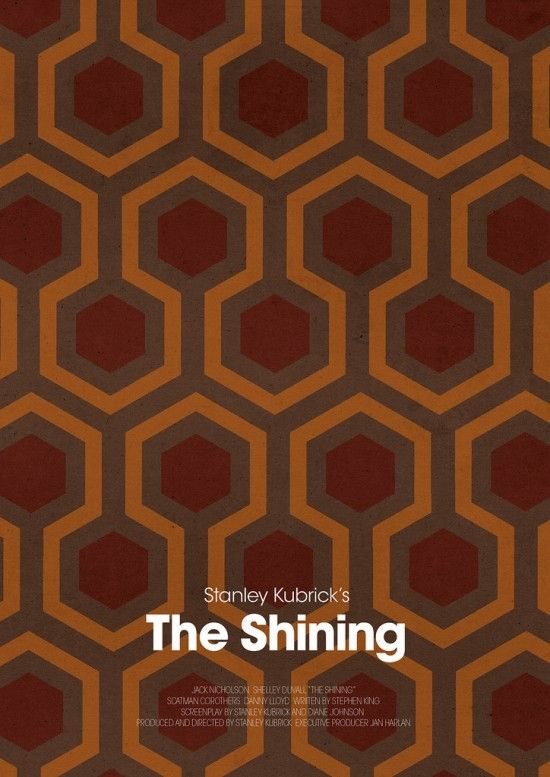Jamie Bolton : Movie Posters  The Shining was great with Jack in it