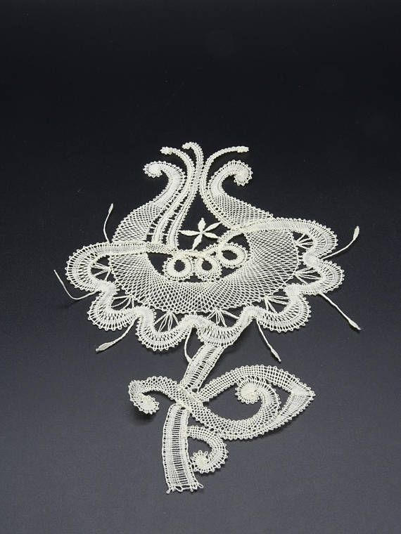 Floral Bruges Lace Hand Made Bruges Lace Lace Application