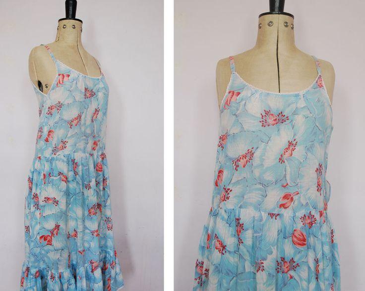 RARE 1970s KENZO JAP cotton gauze dress Kenzo Jungle Jap