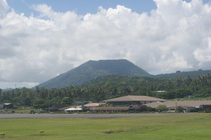 #Travel: #Faleula International Airport, #Upulu, #Samoa. Photo: D Rudman