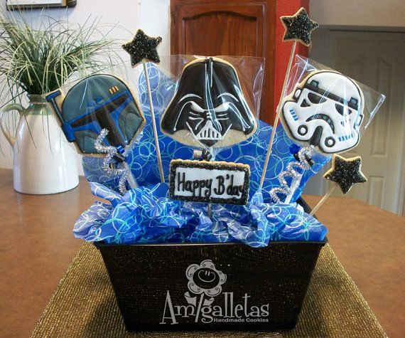 115 Best Star Wars Party: Cookies Images On Pinterest