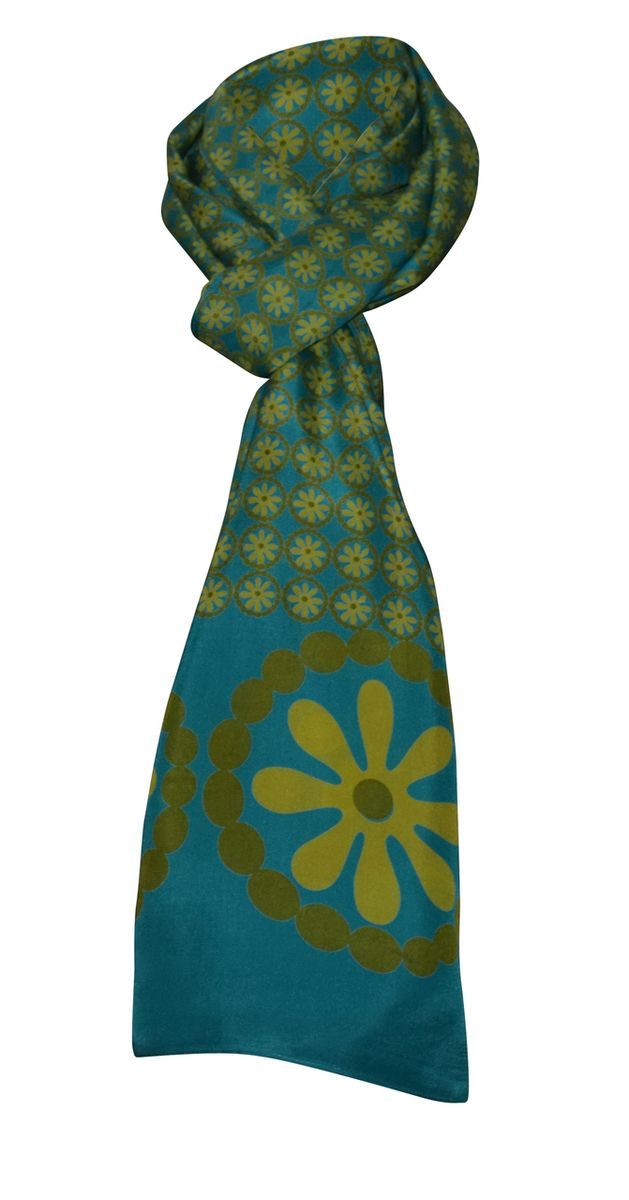 Dezinery - Pure Silk Scarves - Rosace, $90.00 (http://www.dezinery.com/pure-silk-scarves-rosace/)