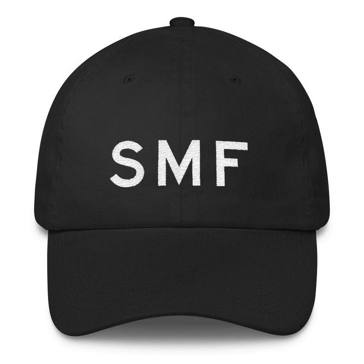 SMF Sacramento Airport Code Classic Dad Cap