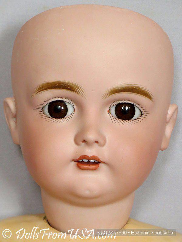 """Продается антикварная кукла J.D.Kestner 167 23"""" (58 см). / Антикварные куклы, реплики / Шопик. Продать купить куклу / Бэйбики. Куклы фото. Одежда для кукол"""