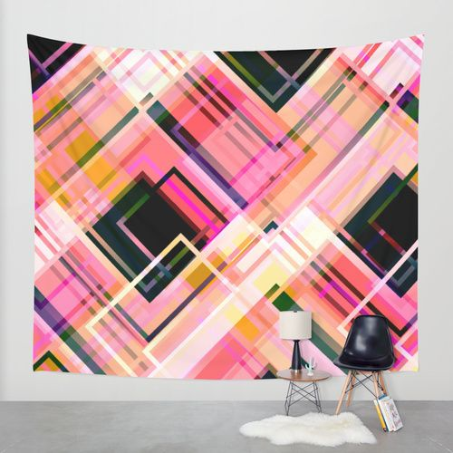 Spectrum Wall Tapestry by Raluca Ag | Society6