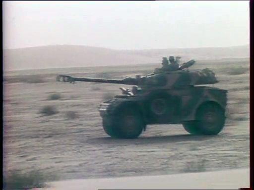 Moroccan Panhard AML-90.