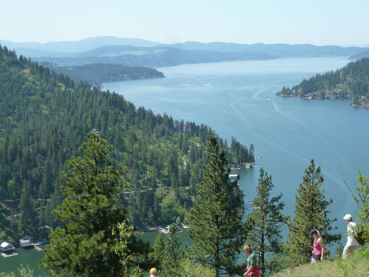 Hiking Mineral Ridge in Coeur d'Alene, Idaho..2months and this will be home!