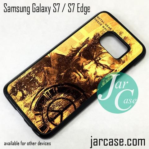 Metal Gear Solid Peace Walker Phone Case for Samsung Galaxy S7 & S7 Edge