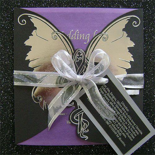 Ref Angel Purple ( we can do any colour) www.weddingcards.co.za