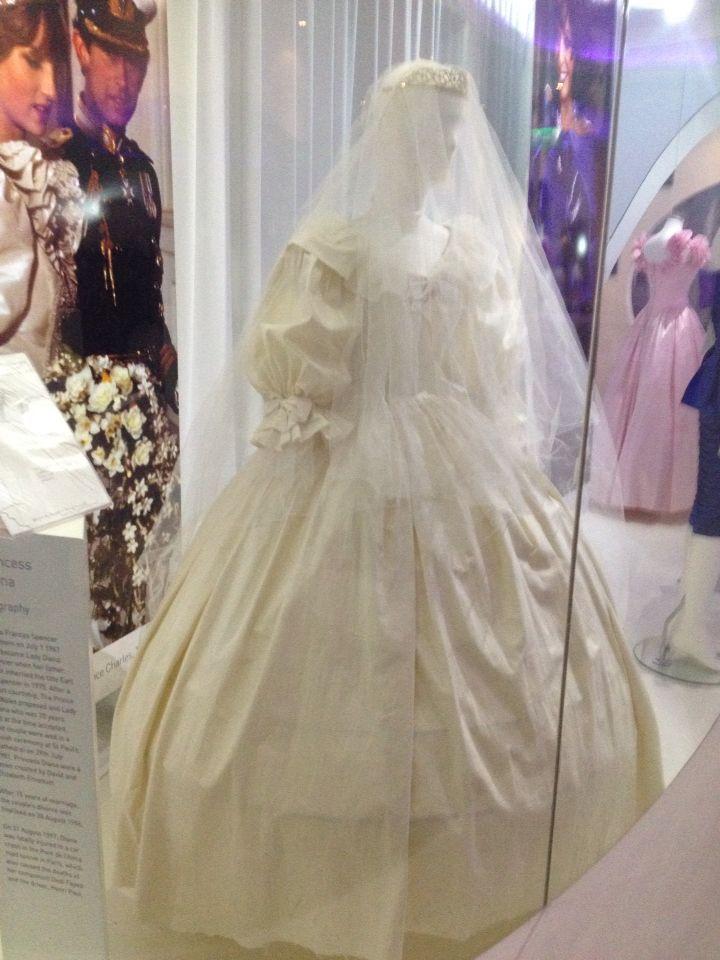 Princess Diana- Wedding Gown at Newbridge Silver, Kildare , Ireland