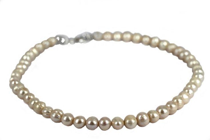 """Collier en perles baroques""-Collier de perles pour mariage"