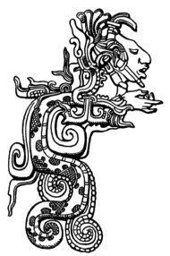 Kukulkán es un importante dios en la mitología maya, (maya: k'u uk'ulkan, 'pluma y serpiente' )? también conocido como Gucumatz en la mitología quiché (quiché: Q'uk'umatz, 'serpiente emplumada' )?. Es referido con este último nombre en el Popol Vuh como un dios creador del universo junto a Tepew.