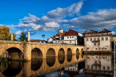 Chaves Bridge. Vila Real, Porto and Northern Portugal