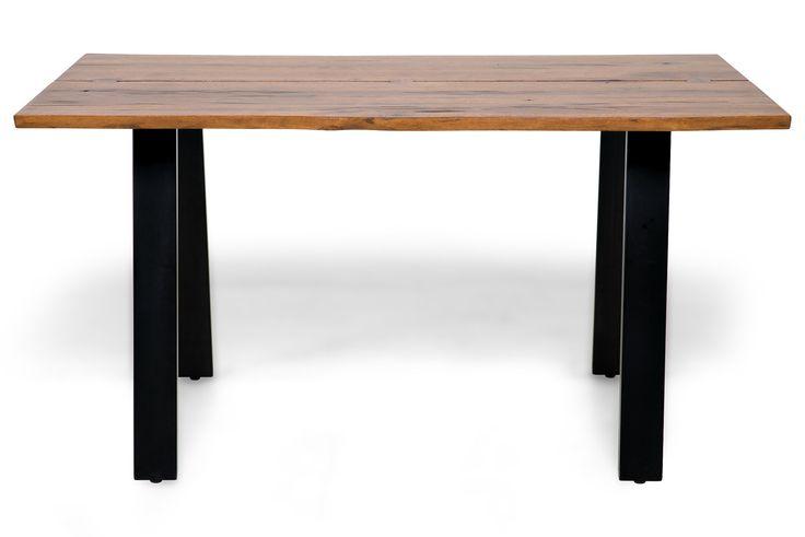 Köp Matbord Memento 150x95 Trä/Metallben hos Chilli. Hos oss får du hög kvalitet till bra pris. Handla fraktfritt med snabb leverans direkt till dörren - Välkommen!