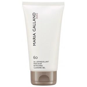 """clean your face """"Gel Démaquillant Fraicheur 60"""" by Maria Galland. Vooral heel makkelijk en snel ' s ochtends in de douche. Ook geweldig voor de jongere huid."""