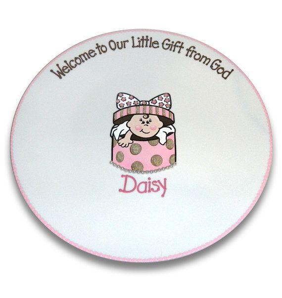 Baby Shower Gift Signature Platter by SerendipityCrafts on Etsy © Copyright Serendipity-Crafts. All rights reserved.