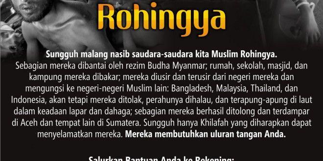 Hizbut Tahrir Indonesia (HTI) Buka Donasi Peduli Rohingya | Hizbut Tahrir Indonesia