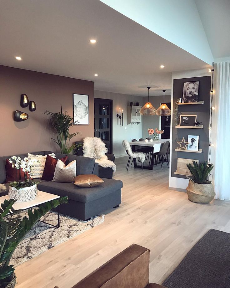 Livingroom, Industrial style with a lot of grey