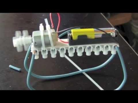 RC circuit for a Bibberbeest / vibrobot