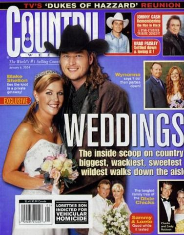 In the beginning of Shelton's country music career .For more information visit on this website http://countryfancast.com/meet-blake-sheltons-first-ex-wife-kaynette-williams/