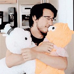 Markiplier with llamas...omg I have just saw my two fav things in one picture
