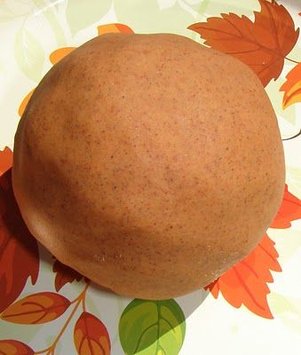 Pumpkin Pie Play Dough recipe