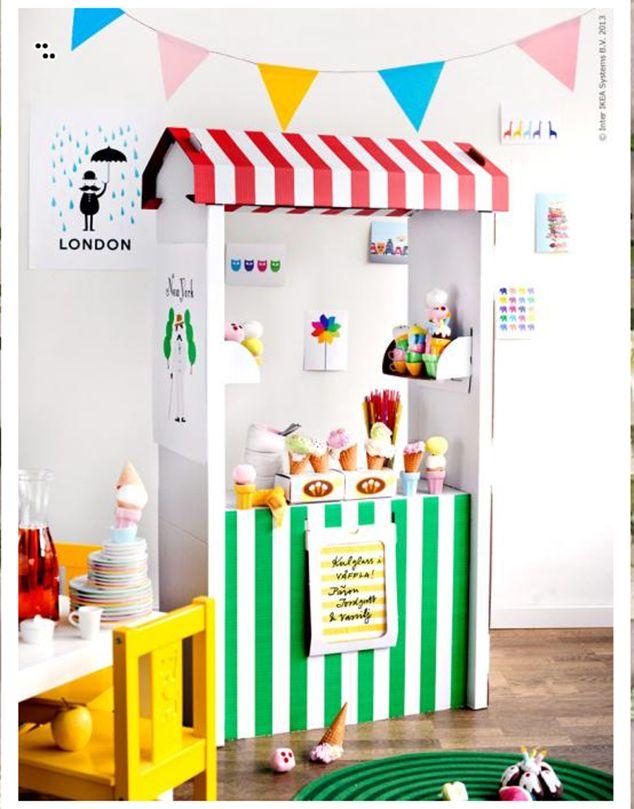 Imprimibles gratis para una tienda de comestibles de juguete - De lunares y naranjas