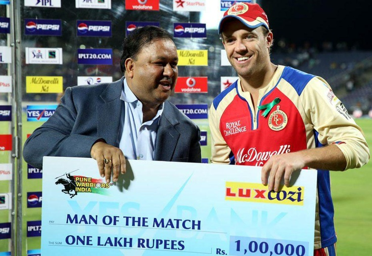 Royal Challengers Bangalore won their first away game of Pepsi IPL 2013, a 17 run win over Pune Warriors India at the Subrata Roy Sahara Stadium in Pune on Thursday night.