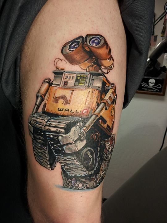 wall e tattoo tatted up pinterest e tattoo wall e. Black Bedroom Furniture Sets. Home Design Ideas