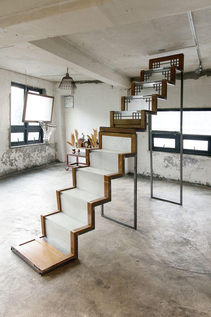 upcycled old door installation www.umalong.com