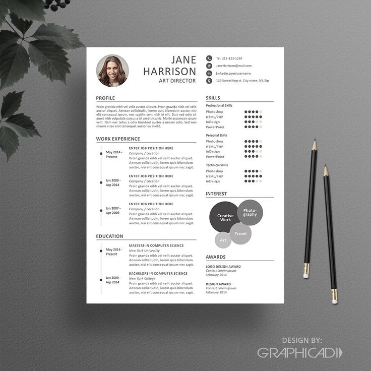 free pages resume templates