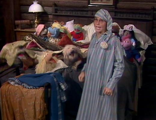 """The Muppet Show with John Denver singing """"Grandma's Feather Bed.""""  FAVORITE SONG on the show eVER."""