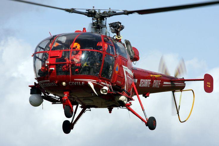 Alouette III de la Sécurité Civile