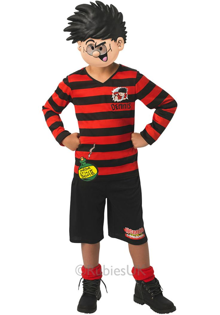 Kids Dennis the Menace fancy dress outfit - Beano - General Kids Costumes at Escapade™ UK - Escapade Fancy Dress on Twitter: @Escapade_UK
