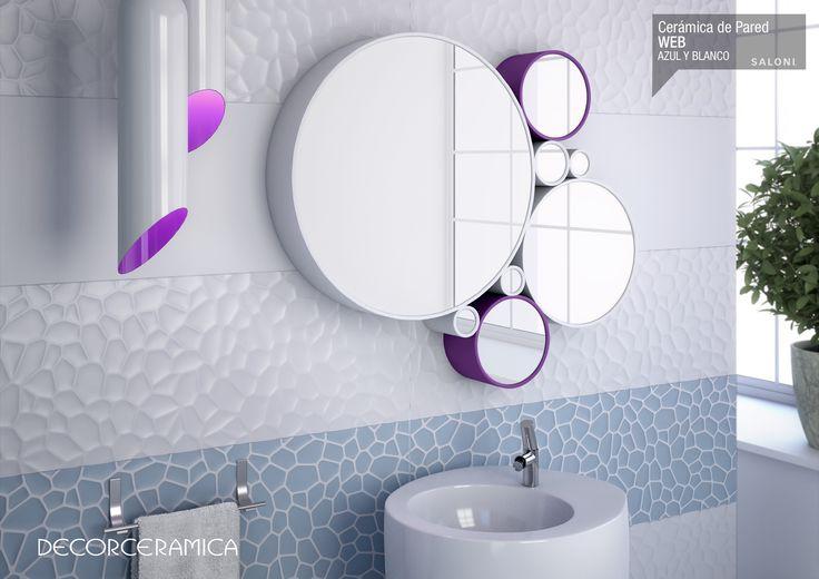 Inspírate con: La colección de cerámica pared Vantage de SALONI. La innovación siempre marca la diferencia en los espacios, y se distingue por tener diversas caras y estilos... Leer más. http://bit.ly/1e7BYXV #saloni #ideasdecor #decorceramica