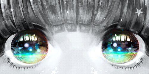 Lindos olhos!