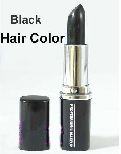 Cabelo café colar de cor de cabelo temporária de giz Maquiagem espelho de cabeleireiro estilo de cabelo tempo de batom alishoppbrasil