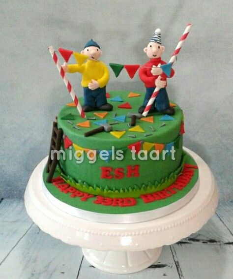 pat and mat cake/ buurman en buurman taart | fondant cakes in 2019