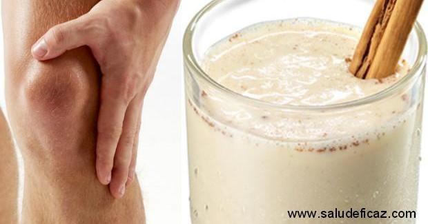 Batido para fortalecer ligamentos y tendones de las rodillas, ¡apunta!