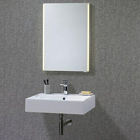 buy john lewis led trace illuminated bathroom cabinet online at johnlewis com