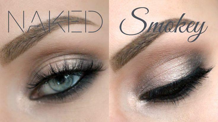 Urban Decay Naked Smoky Palette Tutorial - Grungy Smoky Eye - Lashes Lov...