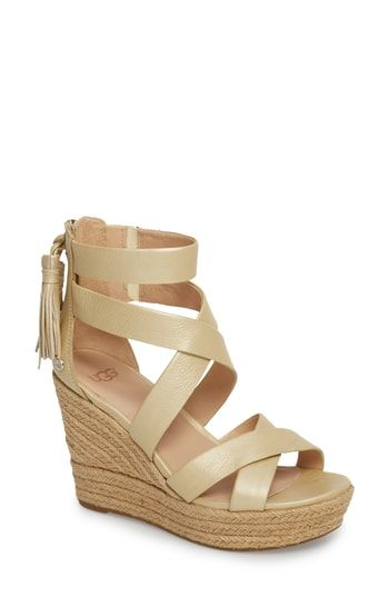 144a531b253 Chic UGG Raquel Platform Wedge Sandal (Women) women shoes.   159.95   allshoppingideas from top store