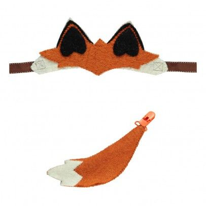 Ohren und Schwanz vom Fuchs  Sew heart felt