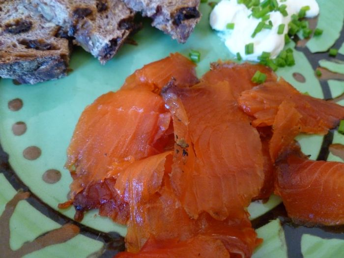 citrus cured salmon with inn citrus cured salmon citrus cured salmon ...