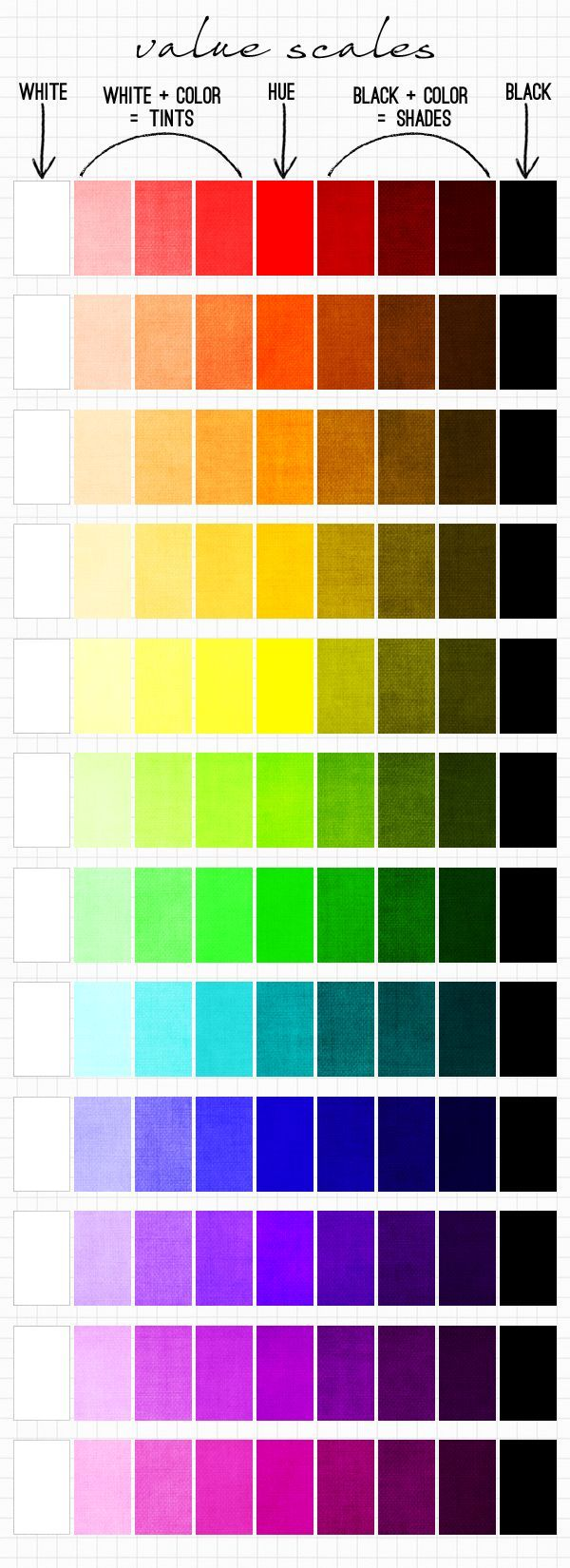 35 best color images on Pinterest | Color palettes, Color theory and ...