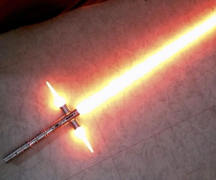 ALREADY?! The Crossguard Lightsaber Replica