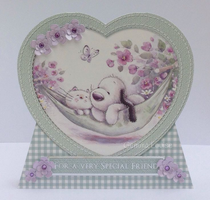 Barkley card handmade by Gemma