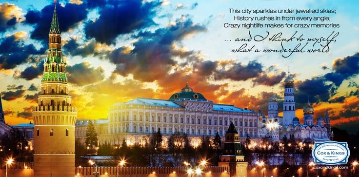 A hub for political, scientific, historic, architectural and business affairs, Moscow is the beating heart of Russia. Finding beauty in the city is hardly a challenge, ancient and modern cultures blend seamlessly in this city of 10 million. Discover many such places with Cox & Kings as we take you on a voyage of constant discovery. #CoxandKings