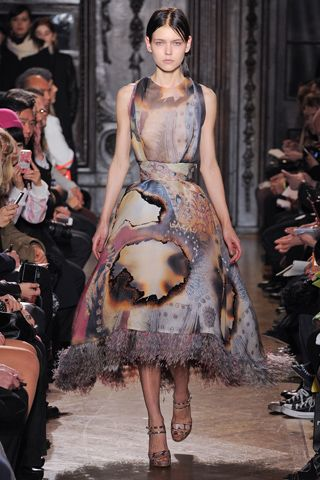 Giles. This collection was part fluffy daydream/part nightmare. #LFW